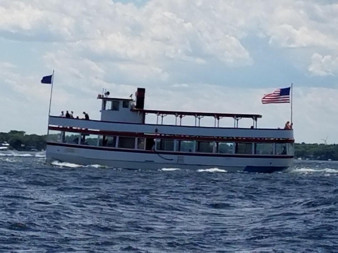 The Queen on West Lake Okoboji