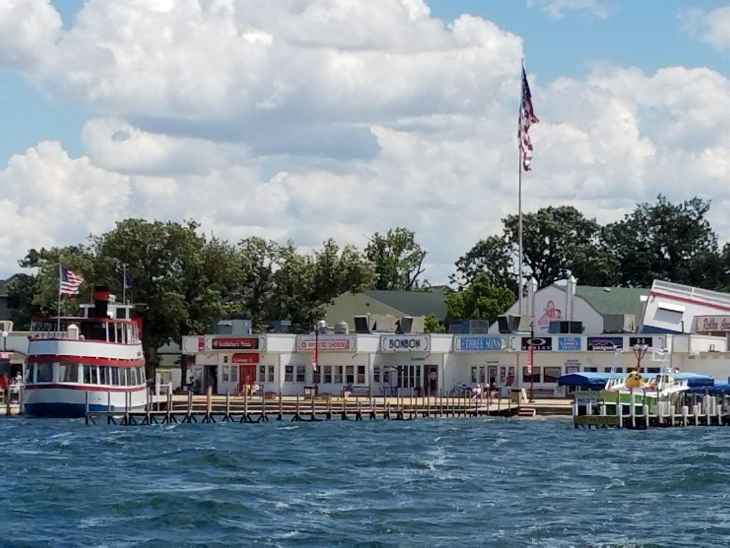 Arnold's Park Amusement Park on West Lake Okoboji