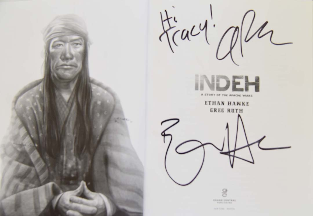 The Texas Book Festival Indeh Ethan Hawke actor