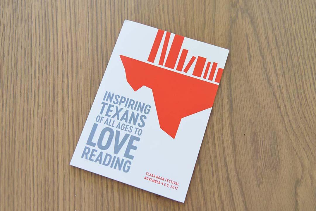 The Texas Book Festival invitation