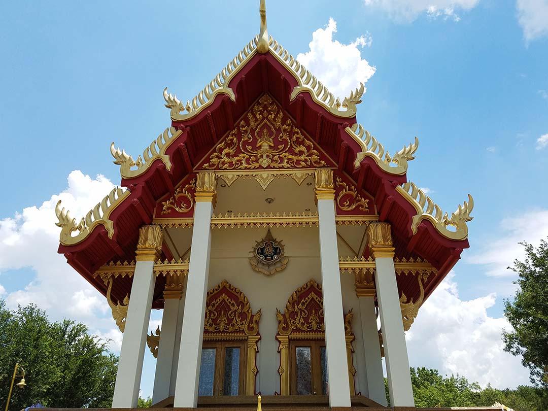 Girlfriends Asian Tour - Back side of Temple at Wat Keller