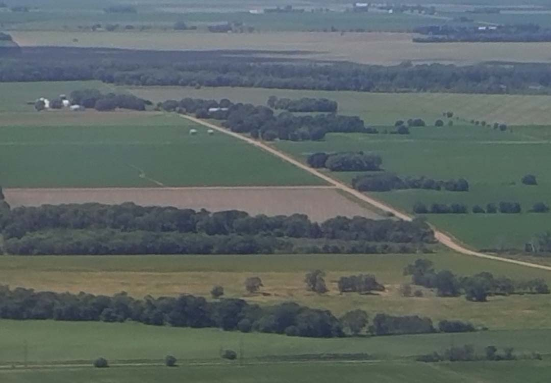 Quick trip to Iowa - view from plane