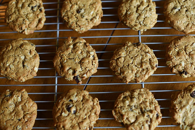 2018-08-18 Oatmeal Raisin Cookies Made With Hearty Healthy Walnut Butter - cool cookies