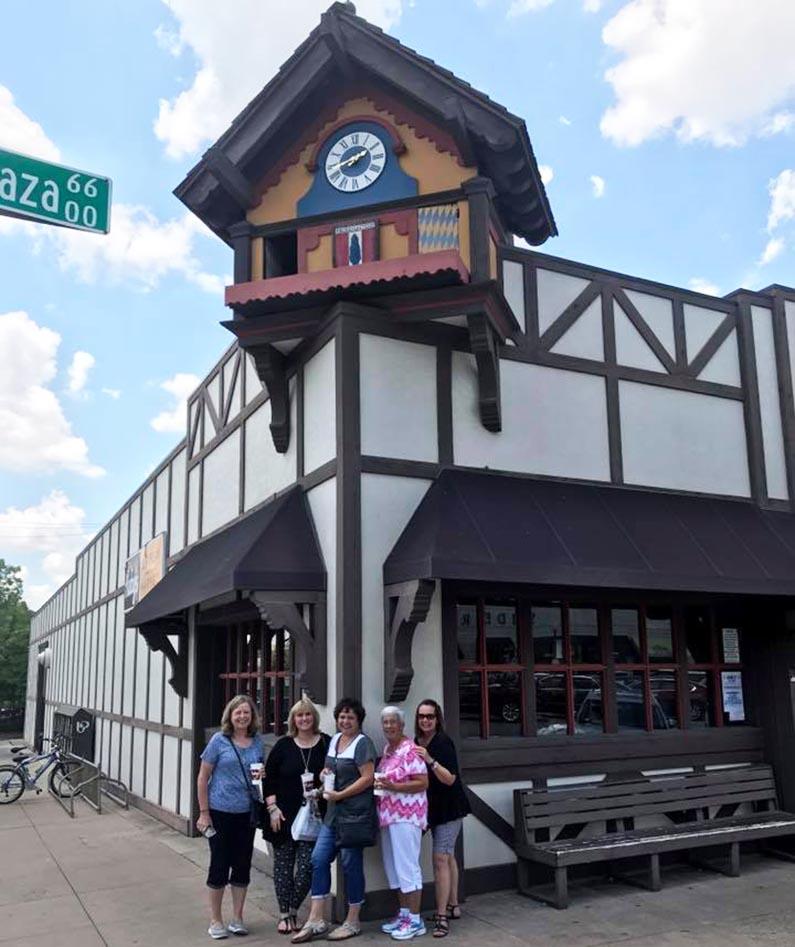 Adventure Girlfriends Whirlwind Trip to Europe - Frankfurt Germany - Kuby's restaurant
