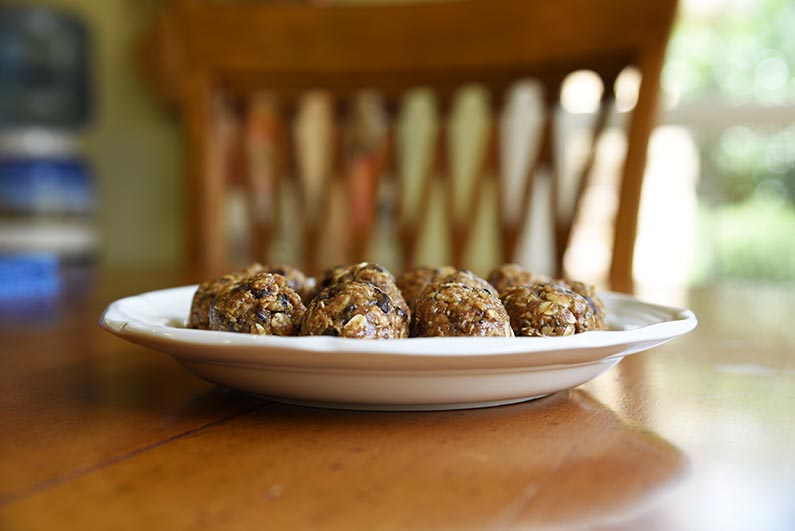 Sarah's No Bake Energy Balls