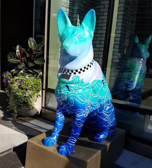 2017-09-30 Dog Statues in Chicago - dog 11