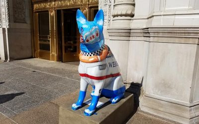 Dog Statues in Chicago