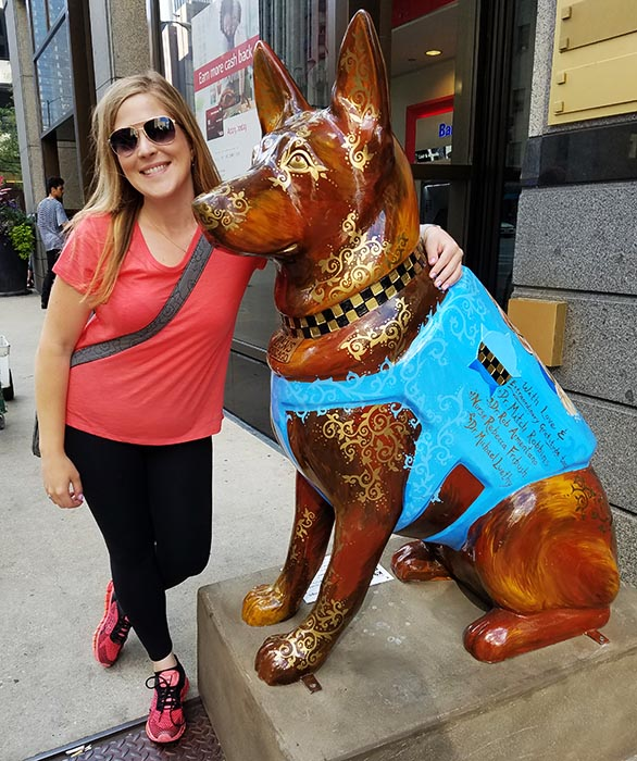 2017-09-30 Dog Statues in Chicago - dog 7
