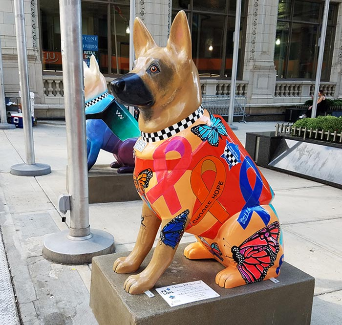 2017-09-30 Dog Statues in Chicago - dog 9