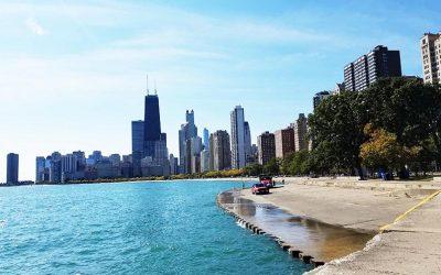 Walk through Lincoln Park in Chicago