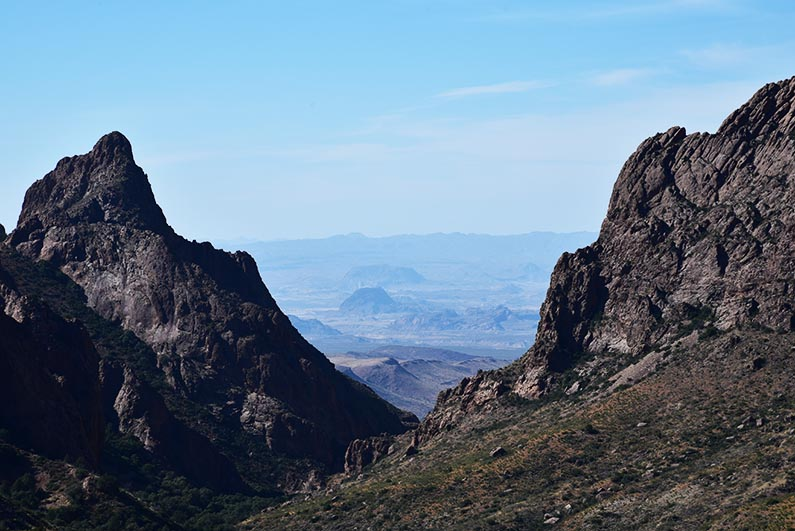 16 - 2017-11-07 Trip to Big Bend - Chisos Mountains - The Window - 1