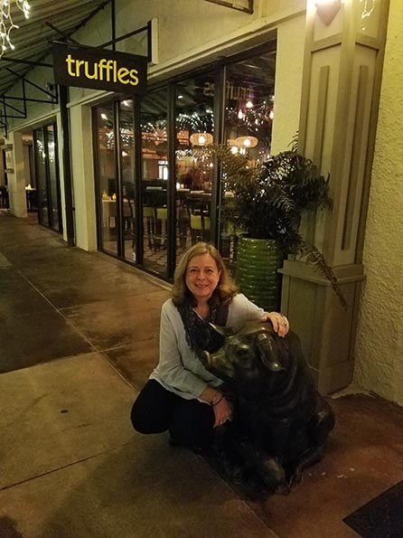 2018-02-01 Trip to Hilton Head Island SC - Dinner at Truffles