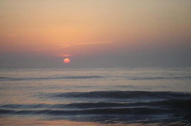 2018-02-01 Trip to Hilton Head Island SC - Sunrise over the Atlantic Ocean